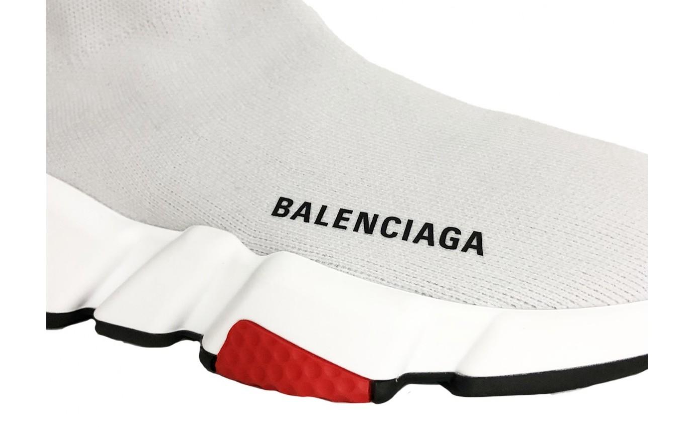 Basket BALENCIAGA SPEED Haute Gris