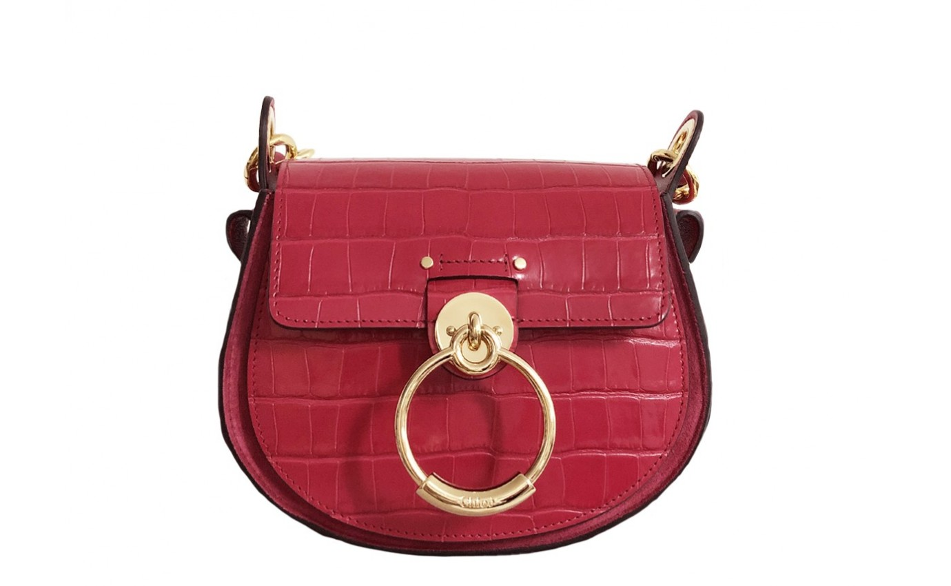 Sac CHLOE TESS SMALL Rouge
