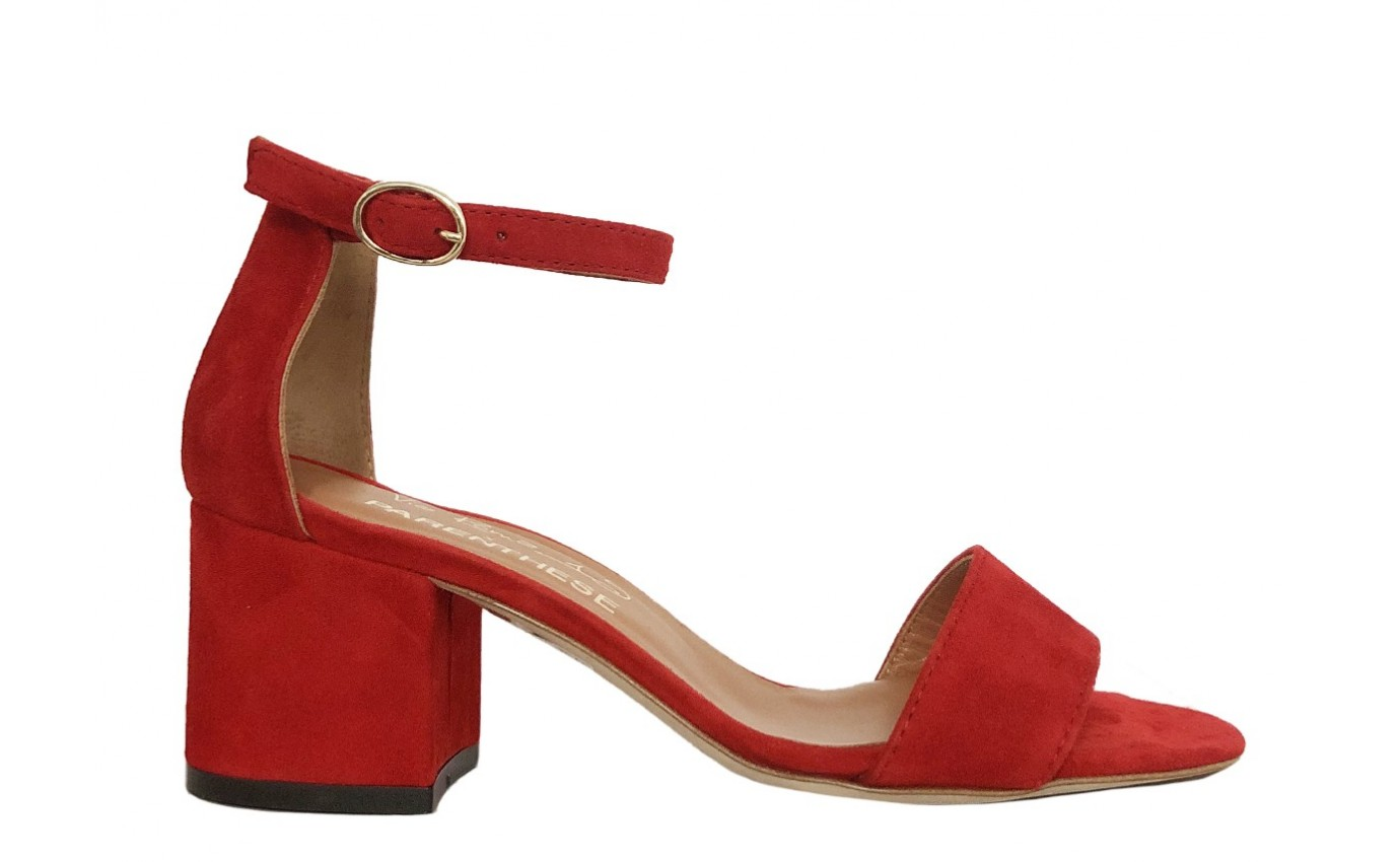 Chaussure PARENTHESE SUMMER SANDALE 5 Rouge