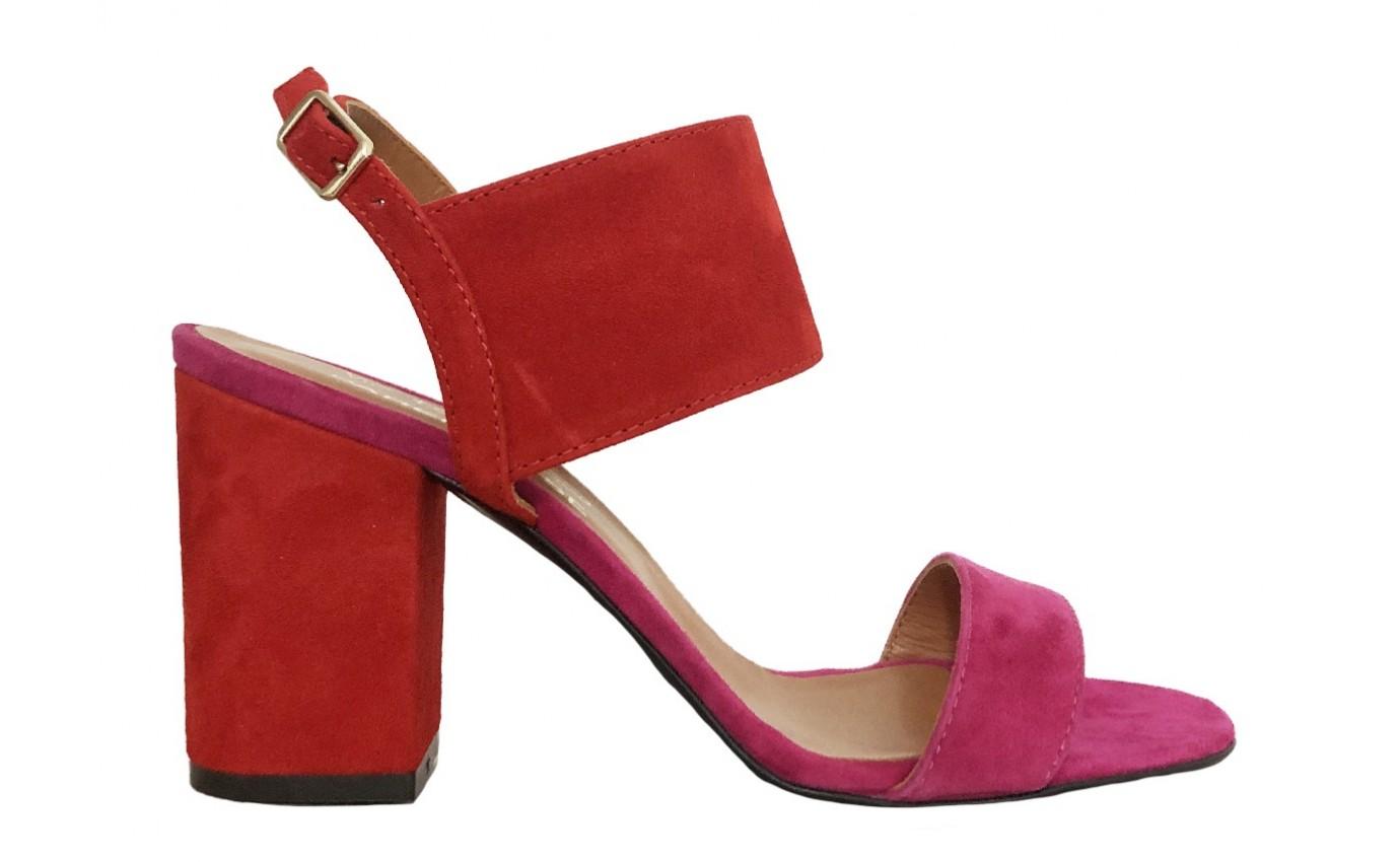 Chaussure PARENTHESE SUMMER BICOLORE Rouge et Fuschia