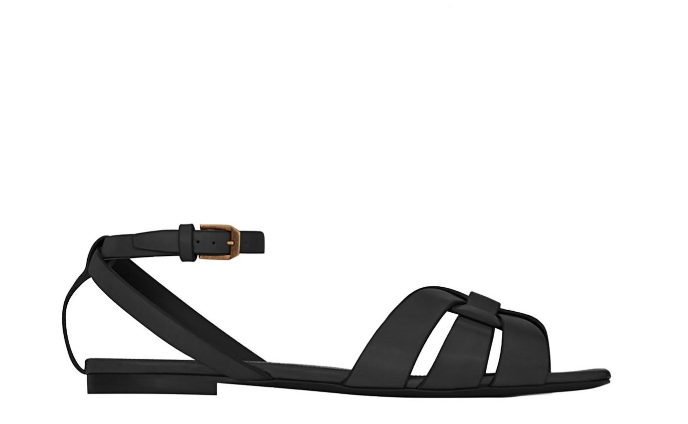 Chaussure SAINT LAURENT TRIBUTE Noir