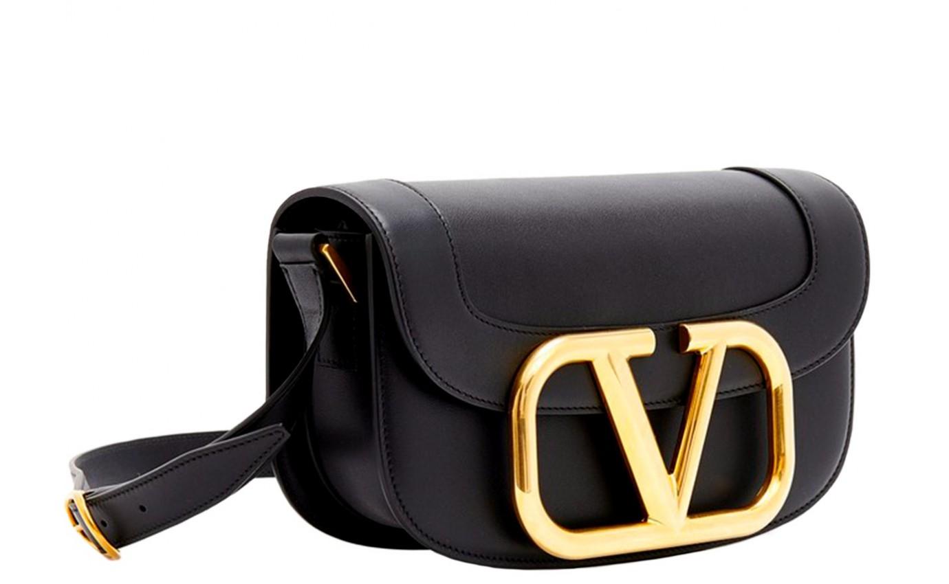 Sac de luxe femme VALENTINO Supervee medium noir