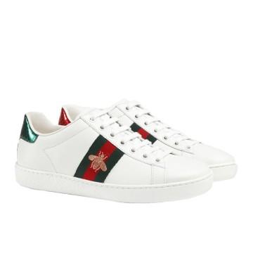 Boutique Parenthese Gucci chaussure Tennis Ace Abeille