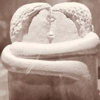 Et chaque jour commencer par un baiser .... #lamourlamourlamour #lebaiser #brancusi #parenthesebordeaux #parentheseaddict #onlygoodvibes
