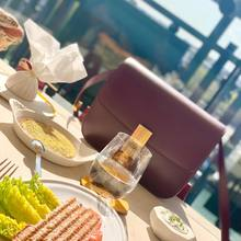 Healthy lunch with a Classic Box view ❤️🔥❤️🔥❤️🔥     #chevalblancparis #petermarino #ingriddonat #celinebag #parenthesebordeaux #weekendvibes #ilovemyjob #fashionbuyer